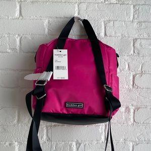 NWT Steve Madden Madden Girl Mini Pink Backpack